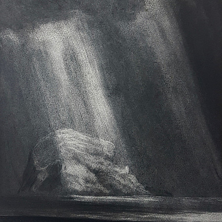 Passing Rays, A Study of Bass Rock