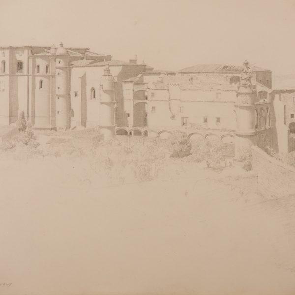 John Bulloch Souter - Convent of San Benito Acantara