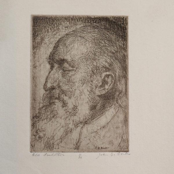 John Bulloch Souter - Old Sculptor