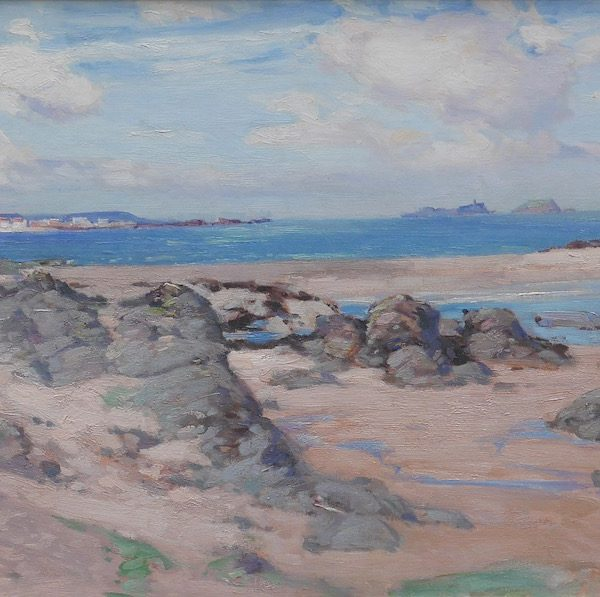 John Campbell Mitchell - North Berwick from the Leithies
