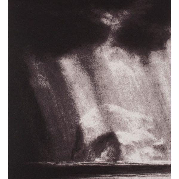Matthew Draper - Illuminated, Bass Rock from Yellowcraigs