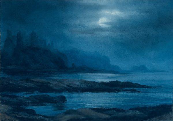 Tantallon by Moonlight