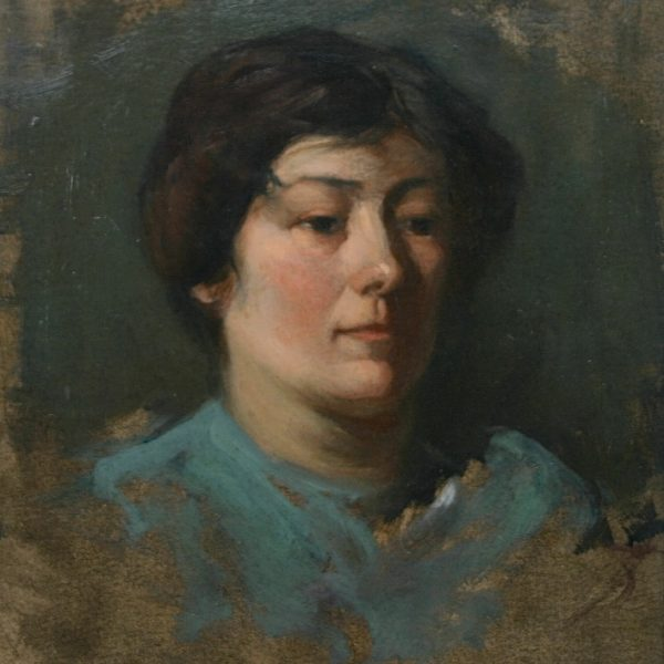 John Campbell Mitchell - Portrait of the Artist's Mother
