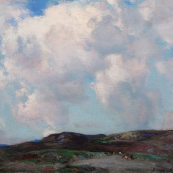 John Campbell Mitchell - On the Perthshire Hills