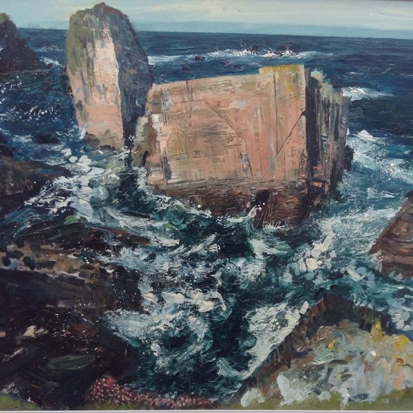Neal Greig Atlantic Sea Stack