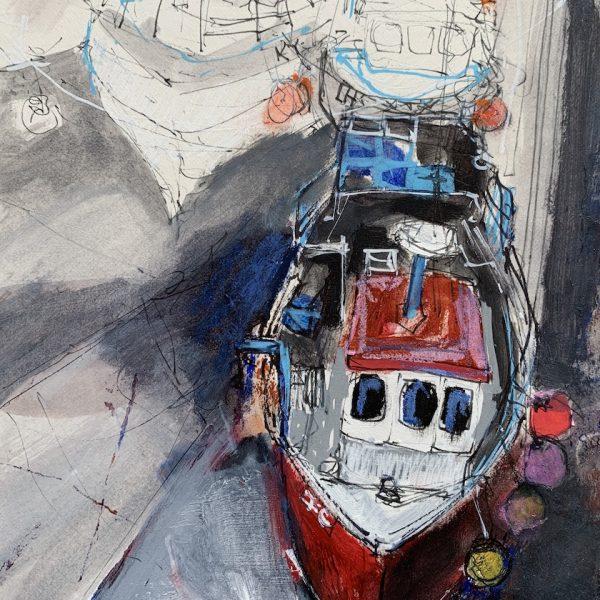 Ann Cowan - Cromwell Harbour, Low Tide