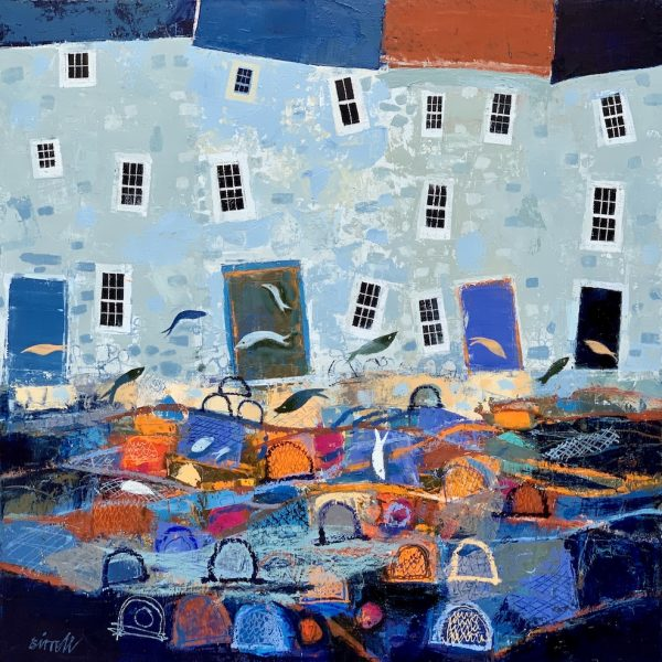 George Birrell - Boats and Leaping Fish