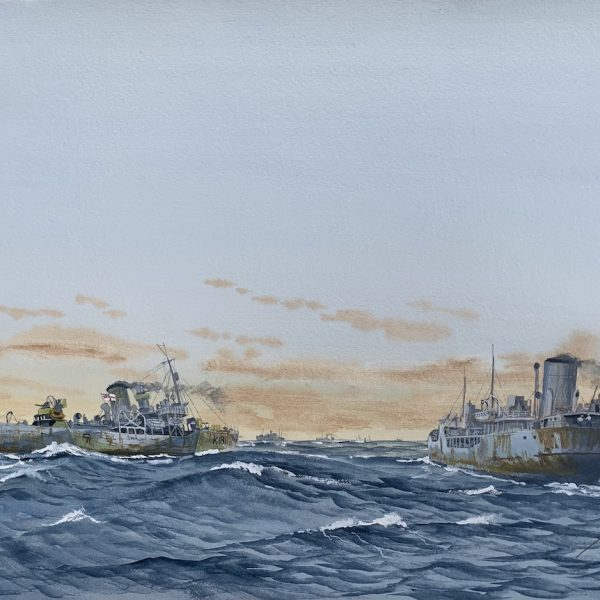 Jim Rae HMCS Sackville Marine Art