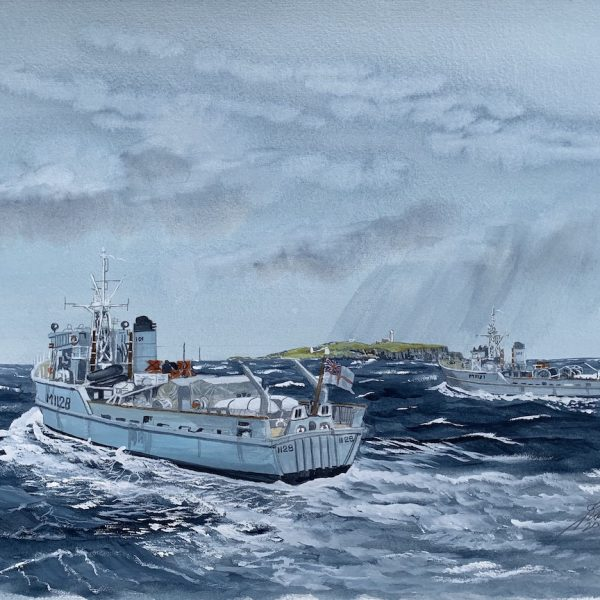 Jim Rae - Sweepers HMS Killiecrankie and HMS Montrose