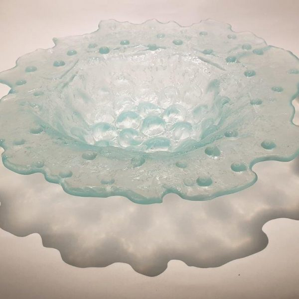 Kate Henderson - Bubble, Recycled Glass Bowl