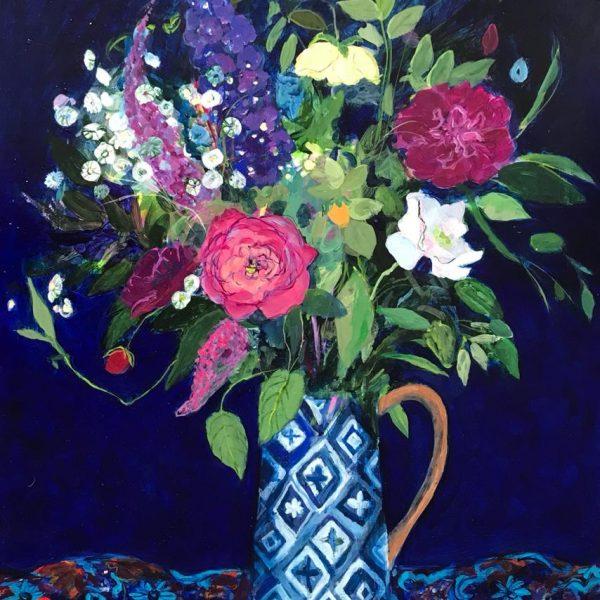 Ann Oram RSW Midnight Bouquet