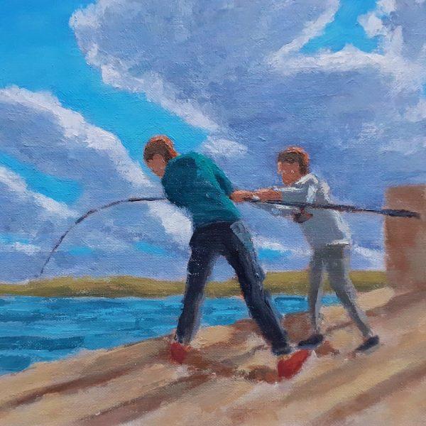 Damian Callan Pier Catch