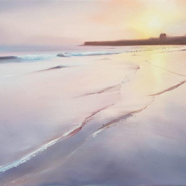 Fee Dickson - Winterfield Sunrise